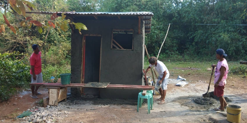 "Target Project ""Toilet and Washing area in Aita Village"", January-February 2019"